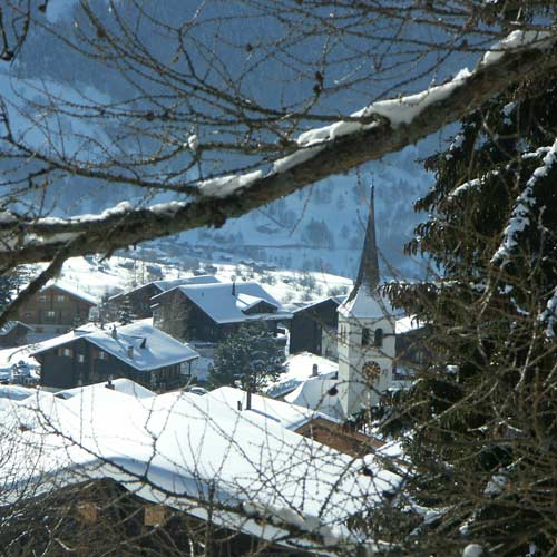 Bellwald im Winter