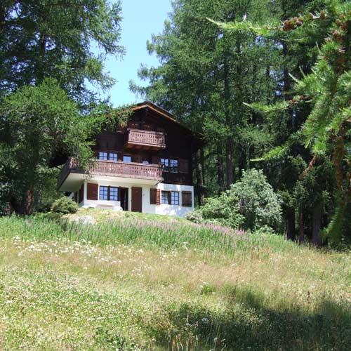 Chalet zum Hirsch im idyllischen Bergsommer