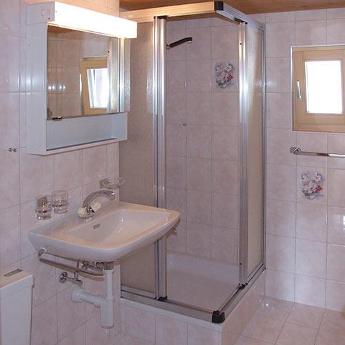 Dusche/WC Dachgeschoss