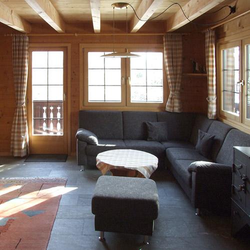 Sitzecke im Obergeschoss